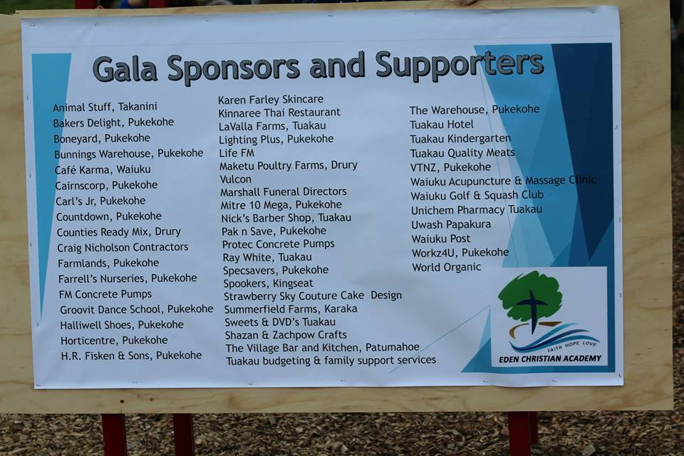Gala Supporters